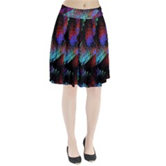 Native Abstract Digital Art Pleated Skirt