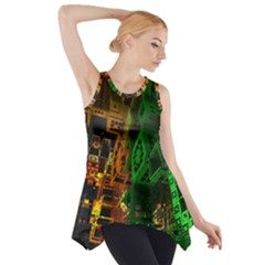 Minecraft Fractal Side Drop Tank Tunic