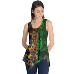 Minecraft Fractal Sleeveless Tunic