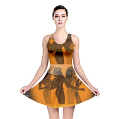 Maps Egypt Reversible Skater Dress