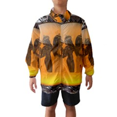 Maps Egypt Wind Breaker (Kids)