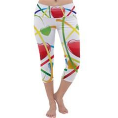 Love Capri Yoga Leggings