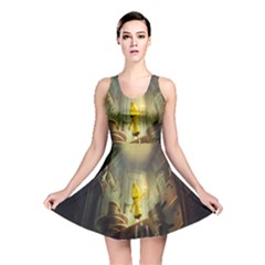 Little Nightmares Reversible Skater Dress