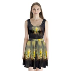 Little Nightmares Split Back Mini Dress