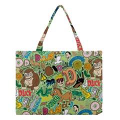 D Pattern Medium Tote Bag