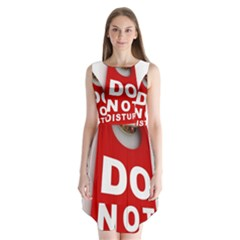 Do Not Disturb Sleeveless Chiffon Dress