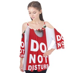 Do Not Disturb Flutter Tees