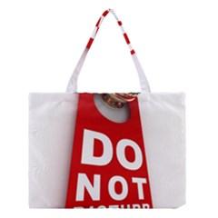 Do Not Disturb Medium Tote Bag