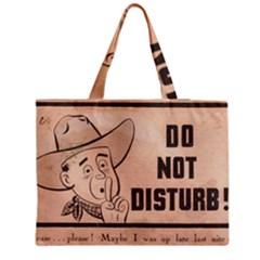 Do Not Disturb I Want To Sleep Thanks Medium Zipper Tote Bag