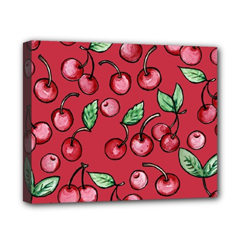 Cherry Cherries For Spring Canvas 10  x 8