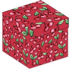 Cherry Cherries For Spring Storage Stool 12