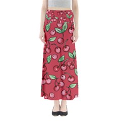 Cherry Cherries For Spring Maxi Skirts
