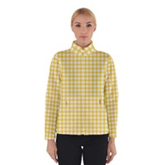 Deep Yellow Gingham Classic Traditional Pattern Winterwear