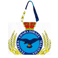 Crest of Royal Malaysian Air Force Large Tote Bag