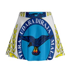 Crest Of Royal Malaysian Air Force Mini Flare Skirt