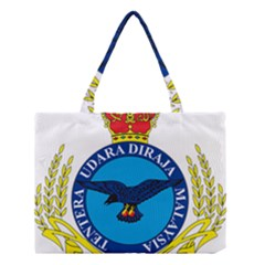 Crest of Royal Malaysian Air Force Medium Tote Bag