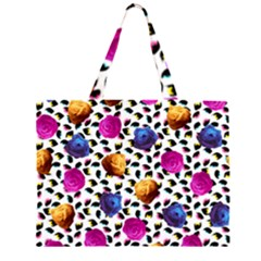 Eyes and Roses Large Tote Bag