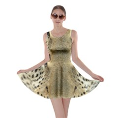 Leopard Face Skater Dress