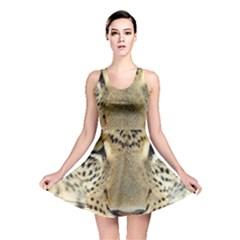 Leopard Face Reversible Skater Dress