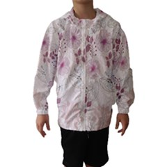 Leaves Pattern Hooded Wind Breaker (Kids)
