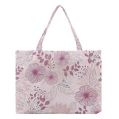 Leaves Pattern Medium Tote Bag