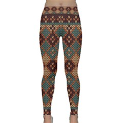 Knitted Pattern Yoga Leggings