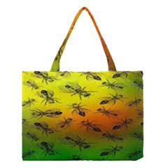 Insect Pattern Medium Tote Bag