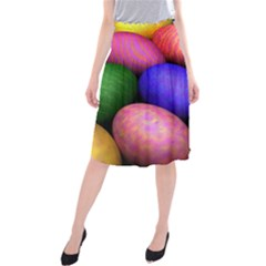 Easter Egg Midi Beach Skirt
