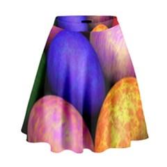 Easter Egg High Waist Skirt