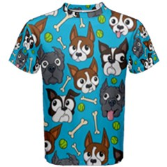 Face Dog And Bond Men s Cotton Tee