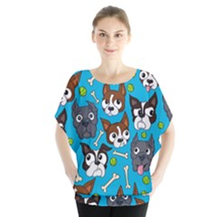Face Dog And Bond Blouse