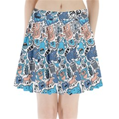 Gross Patten Now Pleated Mini Skirt