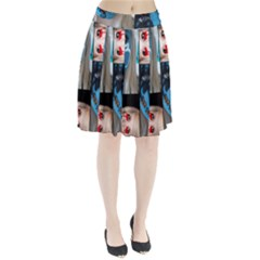 Holliwood Face Painting Pleated Skirt