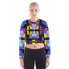 Fgnnjmjhyj Women s Cropped Sweatshirt
