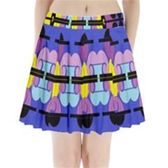 Fgnnjmjhyj Pleated Mini Skirt