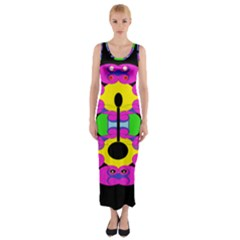 Fgdguk Fitted Maxi Dress