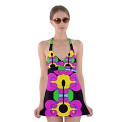 Il Halter Swimsuit Dress