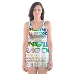 Imagine Dragons Quotes Skater Dress Swimsuit