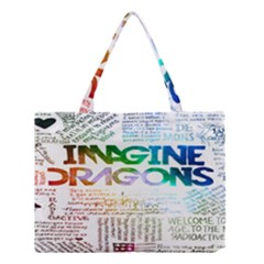 Imagine Dragons Quotes Medium Tote Bag