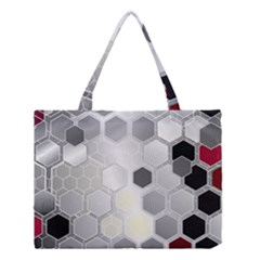 Honeycomb Pattern Medium Tote Bag