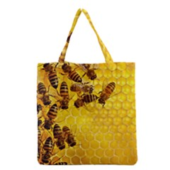 Honey Honeycomb Grocery Tote Bag