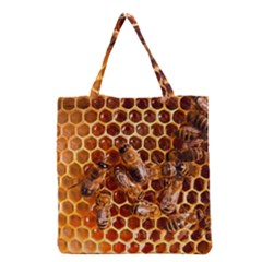 Honey Bees Grocery Tote Bag