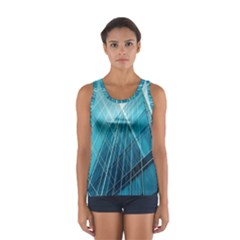 Glass Building Women s Sport Tank Top