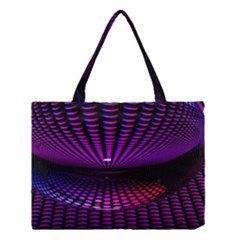 Glass Ball Texture Abstract Medium Tote Bag