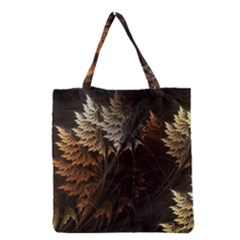 Fractalius Abstract Forests Fractal Fractals Grocery Tote Bag