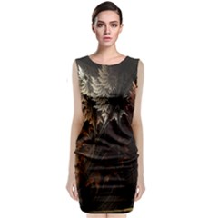 Fractalius Abstract Forests Fractal Fractals Classic Sleeveless Midi Dress