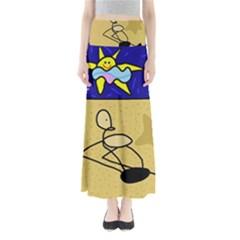 Sunbathing Maxi Skirts