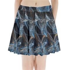 Fractal Tangled Minds Pleated Mini Skirt