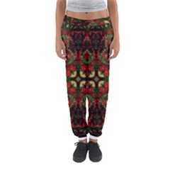 Fractal Kaleidoscope Women s Jogger Sweatpants