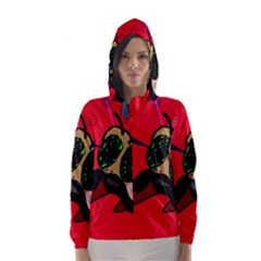 Mr Fly Hooded Wind Breaker (Women)